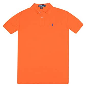 Polo Ralph Lauren Classic Fit Mesh Polo, Basketball Orange, Small