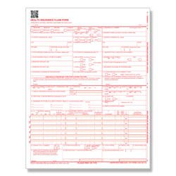 For Handwritten Only. CMS 1500 / Hcfa 1500 Medical Billing Forms (10 Sheets) Sample Pack.