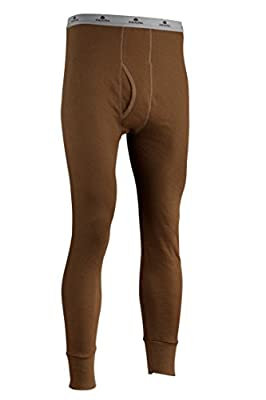 Indera Men's Icetex Performance Thermal Underwear Pant with Silvadur