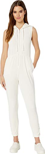 Juicy Couture Women's Microterry Hooded Jumpsuit Angel Petite/X-Small ()