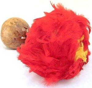 Hawaiian Hula Uli Uli Red Yellow - E Uli
