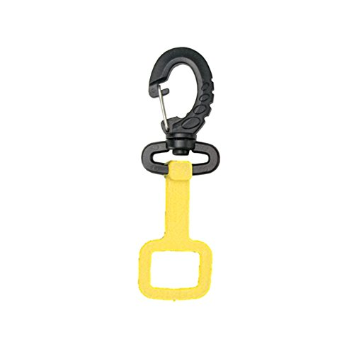 Innovative Rubber Octo-Holder With Clip (Yellow)