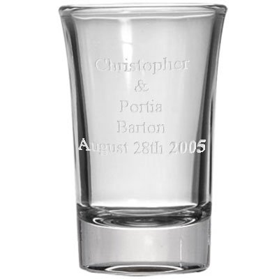 CKB Products Wholesale Personalized 1.5oz Shot Glass, Custom Laser Etched