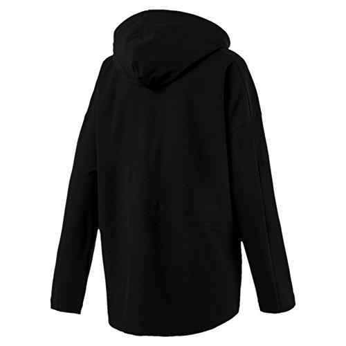 Black Puma shirt Sweat Zippée Transition Femme CwYnarCZx