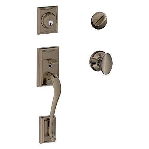 Schlage Lock Addison Single Cylinder Handleset and Siena ...