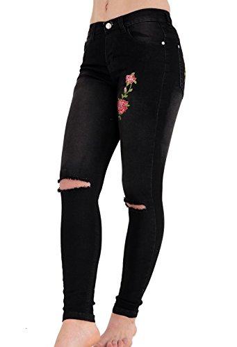 Generic - Jeans - Femme Noir Noir