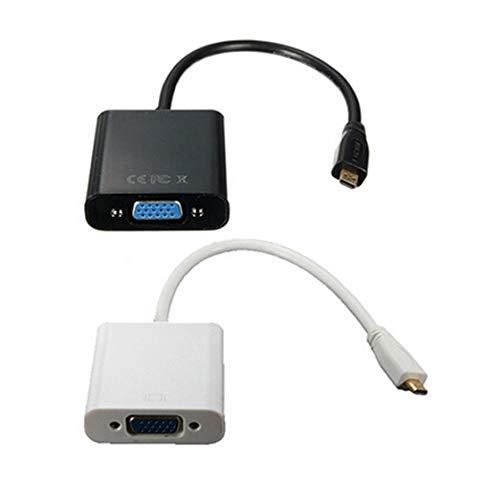 Moligh doll Micro HDMI Male VGA Mere Ligne de Conversion de Tour