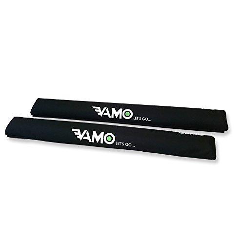 VAMO BLACK 30'' Long Surf Kayak SUP Rack Pads AERO BAR by Vamo