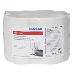 Zoom Supply Ecolab 17063 Dish Detergent, Industrial-Strength Ecolab Apex Solid Power Dish Soap, Blasts Nastiest Crud & Crap Faster -- When Your Image Matters by Zoom Supply (Image #1)