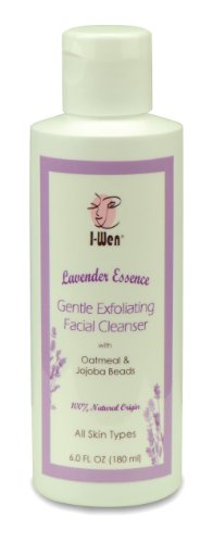 I-Wen Lavender Essence Gentle Exfoliating Facial Cleanser - 6 fl oz (180 ml)