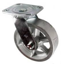 "Mapp Caster 146 cirb620s, 6 ""x 2"" rueda de hierro fundido giratorio"