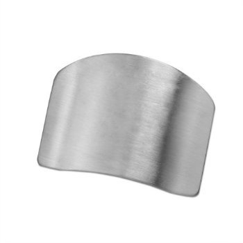 1 X Useful Stainless Steel Finger Hand Protector Guard Chop Safe Slice Kitchen Tool