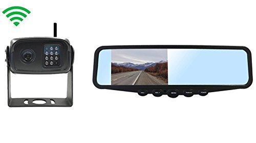 Tadibrothers Digital Wireless RV Backup Camera With Rear View - Mirror Camera Backup Tadibrothers