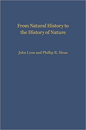 From Natural History to the History of Nature: Readings from