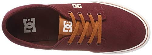 Trase Basses Bt3 Sneakers Tan DC Rouge Homme SD Shoes Burgundy axT5q4S