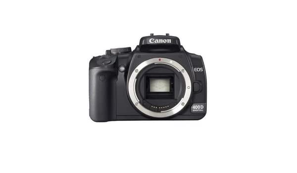 Canon EOS 400D - Cámara Réflex Digital 10.1 MP: Amazon.es: Electrónica