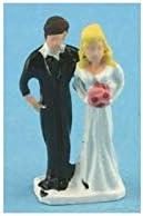 Dollhouse Miniature 1:12 Scale 1 Bride /& Groom #Z266