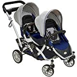 Contours Options Tandem Baby Stroller - Twilight