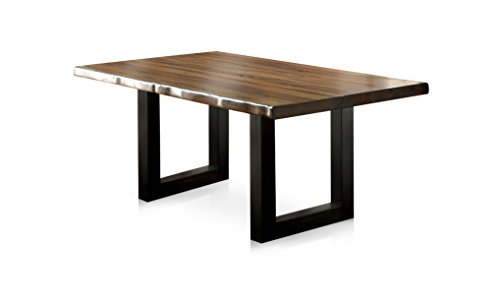 (HOMES: Inside + Out IDF-3606T Tobacco Oak Durrett Contemporary Dining Table)