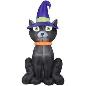 Halloween Black Cat Airblown Inflatable