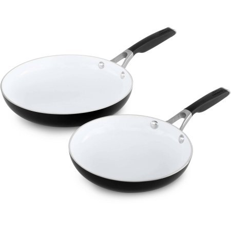 Calphalon Ceramic Fry Pan - Select by Calphalon Ceramic Nonstick 8-Inch and 10-Inch Fry Pan Combo Set
