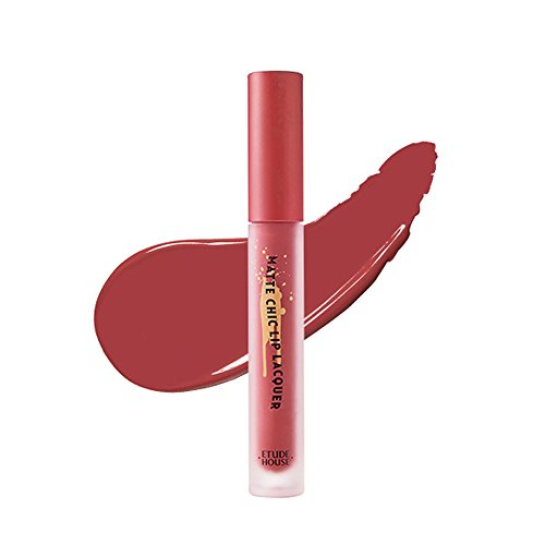 Etude House Matte Chic Lip Lacquer (BR401 WENDY Brown)