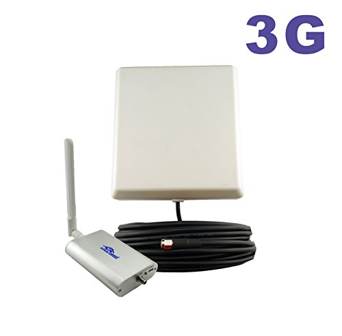 65dB 850MHz Cell Phone Signal Booster Repeater for Home and Office GSM CDMA HSPA HSPA+ Mobile Amplifier Supports 2,500 Square Foot Area Full Kit (Gsm Repeater)
