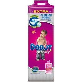 Dodot - Pañales Dodot Activity Extra T5 44 uds