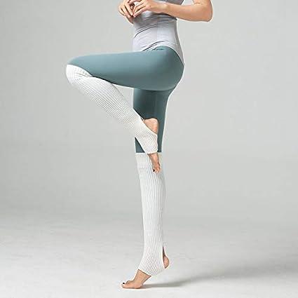 ACVIP Damen M/ädchen Ballettstulpen mit Fersenloch Beinw/ärmer Ballett Stulpen Legwarmer