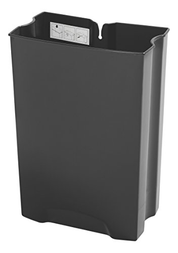 Rubbermaid Commercial Replacement Rigid Liner for Slim Jim Stainless Steel Front Step-On Wastebasket, for Front-Step Containers, 13-Gallon, (1900715) ()