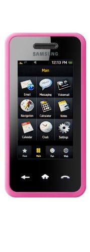 Samsung Instinct Silicone Case (DLO - Philips Silicone Case (Jam Jacket) for Samsung Instinct M800, Pink, DLM43036/17)