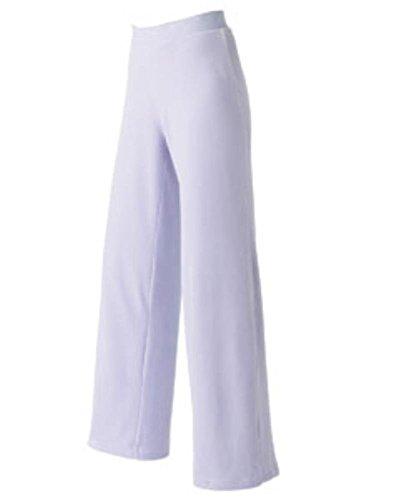 Devon & Jones Pink Women's Velour Lounge Pants DP410W purple Medium