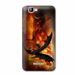 Amazon.com: Case Carcasa Wiko Lenny Fantastique - - dragon ...