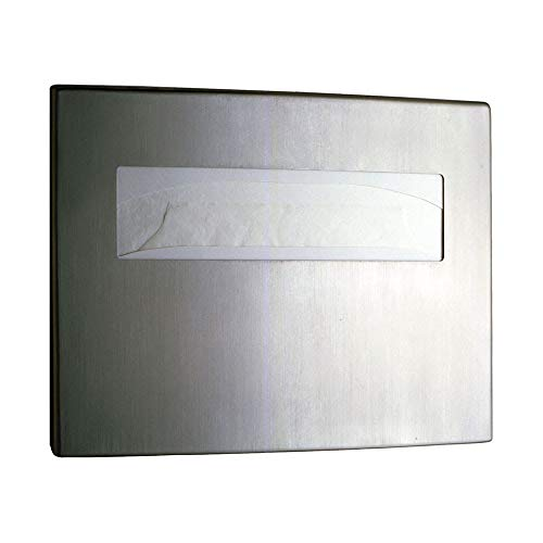 Bobrick B4221 Contura Series Surface Mounted Toilet Seat Cover Dispenser