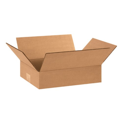 "Aviditi 1284 Corrugated Box, 12"" Length x 8"" Width x 4"" Height, Kraft (Bundle of 25) from Aviditi"