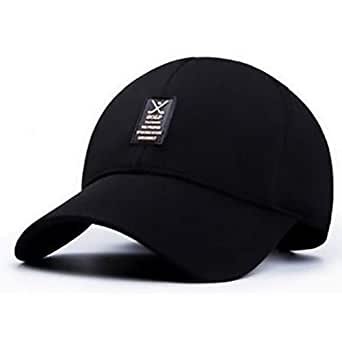 Black Baseball & Snapback Hat For Unisex