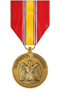Medals of America National Defense Service Medal Bronze