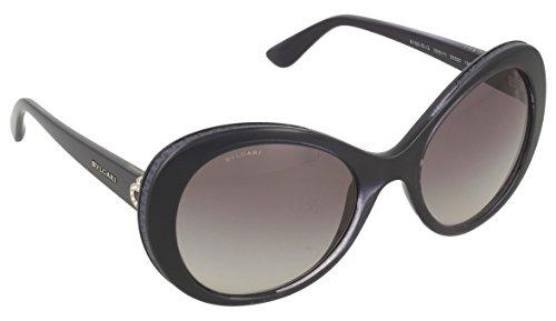 Bvlgari Sunglasses 8159-B-Q 1002/11 55x20 Crystal Dark Bl...