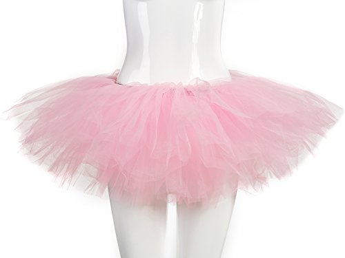 Women For Tutu (belababy Women Pink Tutu Girls Halloween Dress Up)