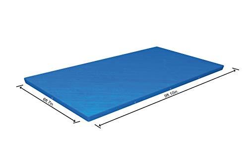 🥇 Bestway 58106 – Cobertor Invierno para Piscina Desmontable 300×201 cm