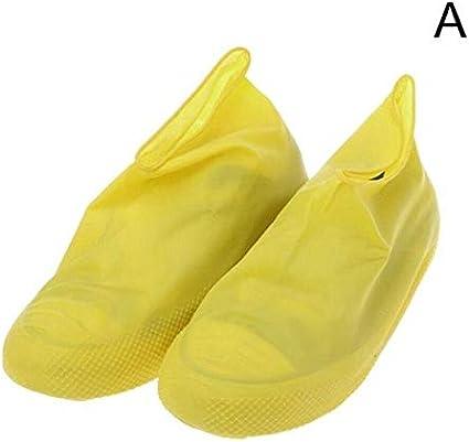 Zapatillas Impermeables Reutilizables para Lluvia Cubiertas de ...