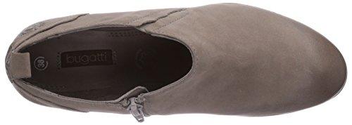 bugatti V5064PR5G - botas de cuero mujer gris - Grau (Smoky grau 155)