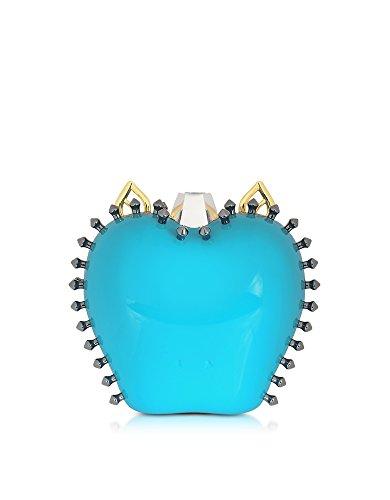 Claire Femme Pochette Plastique MYLIETURCHESE CARLOTTA ROMA Bleu 0p4wvq