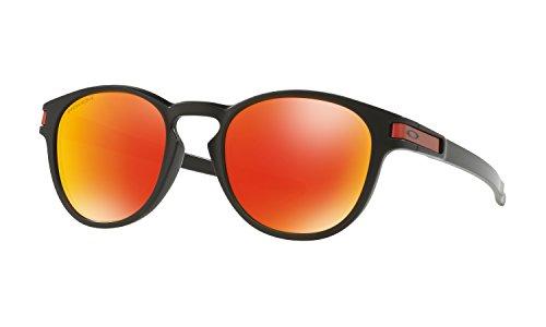 Oakley Latch Sunglasses Matte Black with Prizm Ruby Lens + - About Sunglasses Oakley