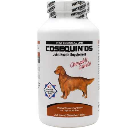 B00028ZLTU Nutramax Cosequin DS Chewable Tablets for Dogs 31feev3DIXL