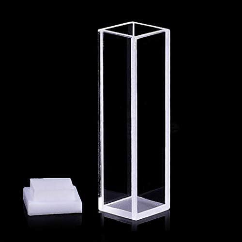 XUEBAI Micro Fluorescencia Cubeta De Cuarzo Tipo Superior ...