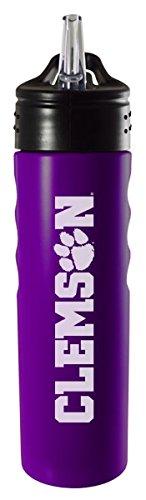 clemson-university-24oz-stainless-steel-grip-water-bottle-with-straw-purple
