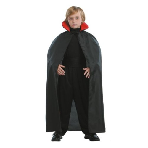 45 Inch Vampire Cape - One size fits most by Totally Ghoul - Ghoul Cape