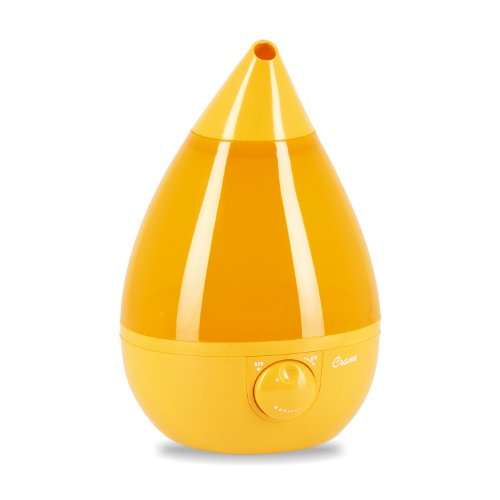 Crane Drop Shape Ultrasonic Cool Mist Humidifier with 2.3 Gallon output per day - Orange (Cranes Ultrasonic Humidifier compare prices)