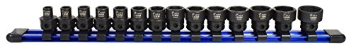 "78314 Metric 3/8"" Drive Low Profile Nano Impact Sockets (14 Piece) ()"
